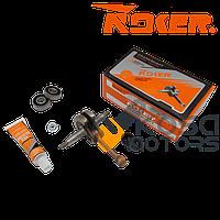 Коленвал 36 бензокосы к-кт сальники + подшипники + гайка маховика ( NOKER)