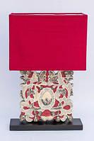 Лампа настольная декоративная Алый цветок BST 530259