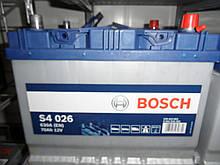 Автомобильный, аккумулятор, BOSCH, 0092S40260, 12V, S4 026 Silver 70 Ач, 261х175х220, 630А, АКБ.