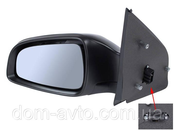 Зеркало в сборе  электро Opel Astra III H