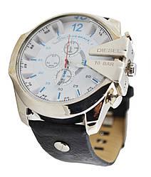 Мужские часы 10 Bar DZ-4188 черно-белый