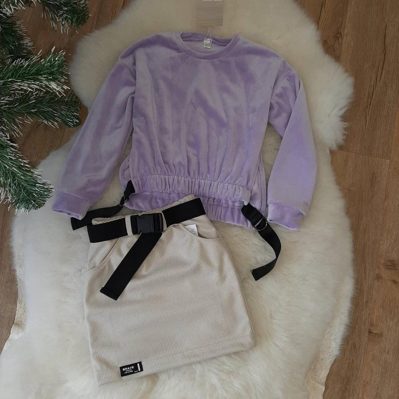 Стильный детский костюм для девочки подростка 134-164 р