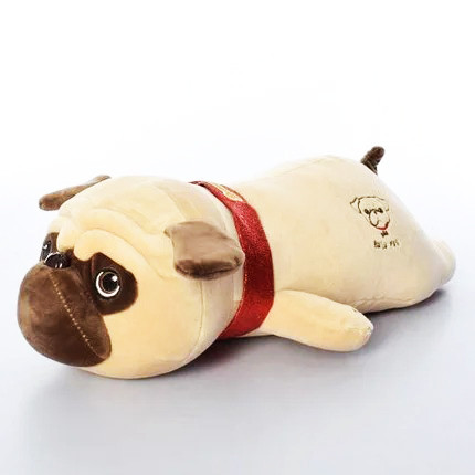 Подушка игрушка собачка мопс