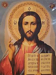 Картини за номерами - Ікона Ісус Христос | Riviera Blanca™ 40х50 див. | GX25062
