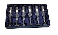 Набор бокалов для шампанского 280 мл Suggest 690029 Италия 6шт.