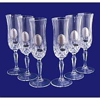 Набор бокалов для шампанского 300 мл Suggest 690035 Италия 6шт.