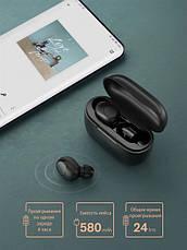 Бездротові Bluetooth-Навушники Xiaomi Haylou GT5 Black, фото 2