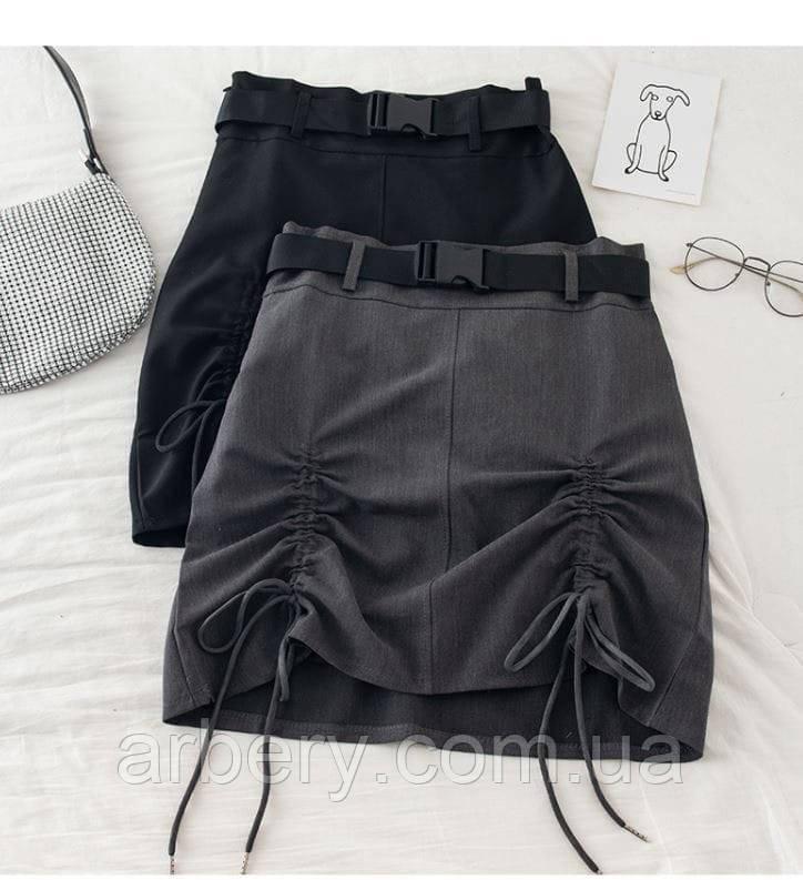 Женские юбки с ремешком и завязками