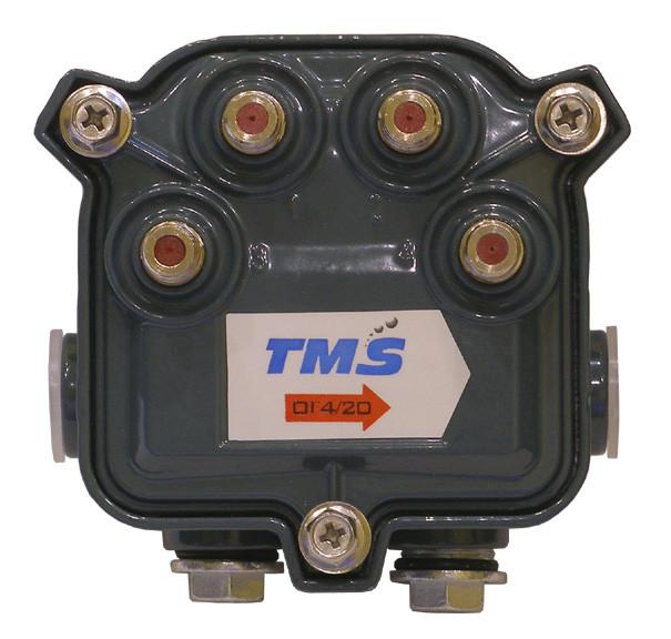 """4714-20 TMS (Субмагистральный ответвитель на четыре отвода по -20дБ) - ЧП фирма """"Мортелеком-сервис"""" в Одессе"""