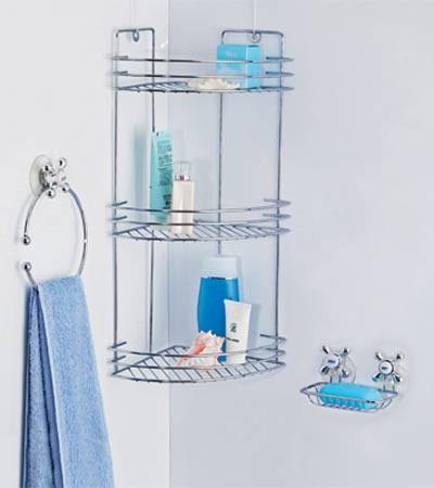 Полки для ванных комнат