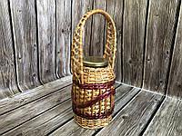 Плетеные банки из лозы 1,5 л, фото 1