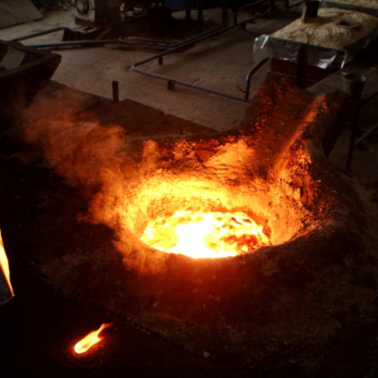 Многотонные отливки металла, изготовление деталей
