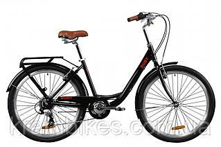 "Велосипед Dorozhnik - Ruby (2020) (26""-17"") Чёрный"