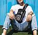 Мужская сумка рюкзак на грудь, фото 9