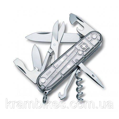 Нож Victorinox - Victorinox Climber 1.3703.T7 серый