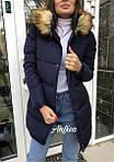 Дутая зимняя женская куртка, фото 6