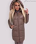 Женская куртка из эко кожи, фото 2