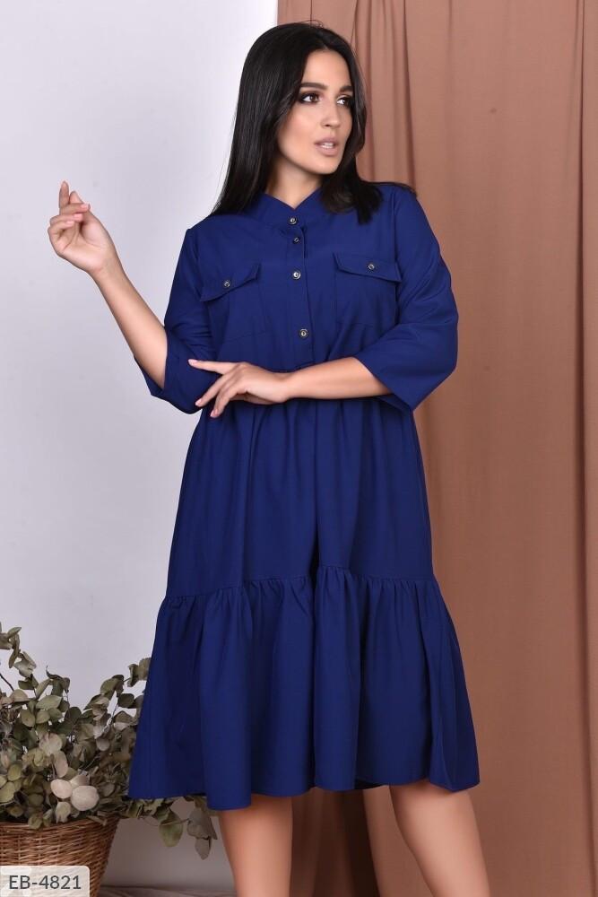 Платье с карманами (Батал)