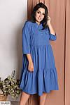 Платье с карманами (Батал), фото 5
