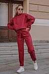Женский брючный замшевый костюм, фото 5