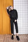Женский брючный замшевый костюм, фото 8