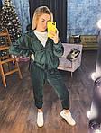 Велюровый женский спортивный костюм, фото 8