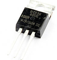 Cимистор BT136-600E TO220 4А 600В 10мА