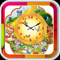 Настенные часы для детского сада