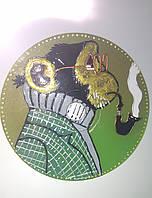 """Сувенир: диск - магнит """"Обезьянки 2016"""", фото 1"""