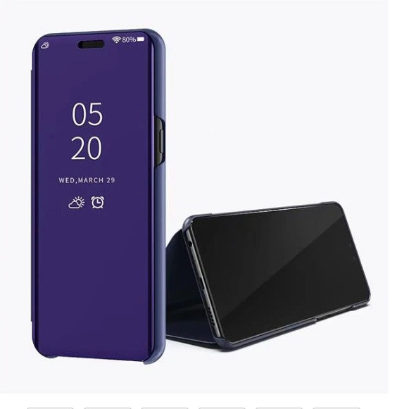 Чохол Mirror для Samsung A31 2020 / A315F книжка Дзеркальна ( фіолетовий )