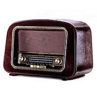Радио проигрыватель ретро 44х29х24 см. орех BST 410854