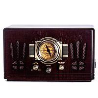 Проигрыватель радио ретро 34х19х16 см. орех BST 410856