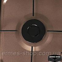 Настольная газовая плита на 3 конфорки Lexical LGS-2813-5   4.7KW, фото 5