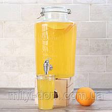 Лимонадник  Cold Drink 7.6л, (лимонадник, диспенсер, пластиковый кран)