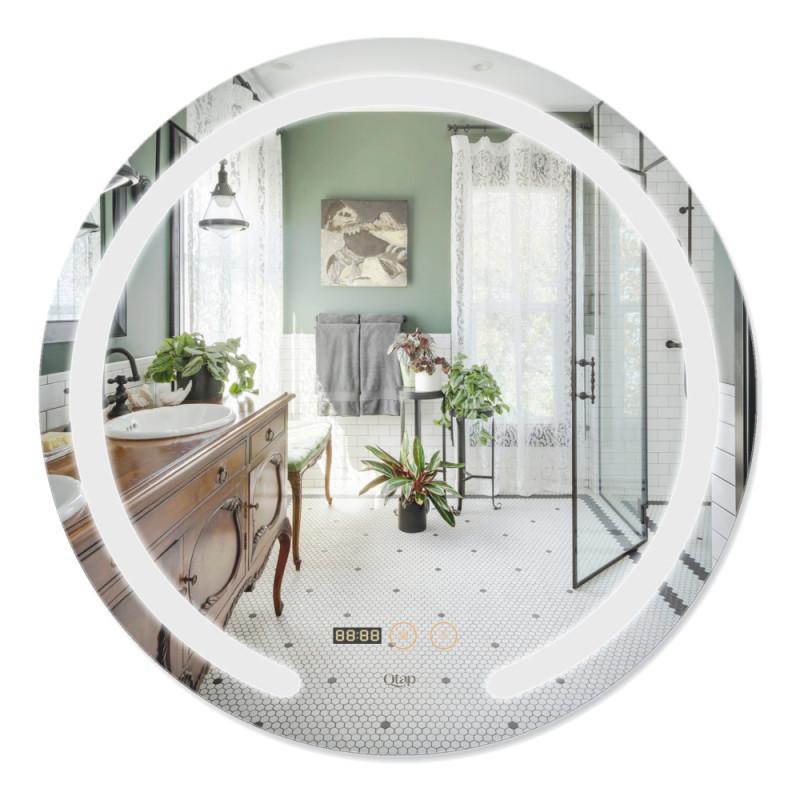 Зеркало Qtap Mideya с антизапотеванием 600х600 QT2078F802W