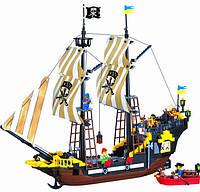 """Конструктор """"Пиратский корабль"""" 510 деталей Brick 307"""