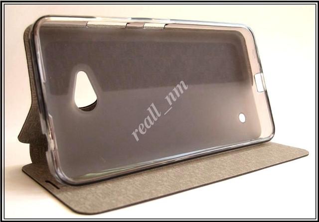 оригинальный кожаный чехол Microsoft lumia 640