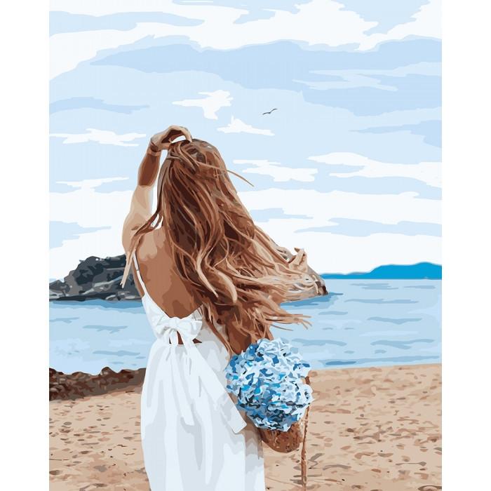"Картина по номерам  ""Ветер надежды"" 40*50см  KHO4728"