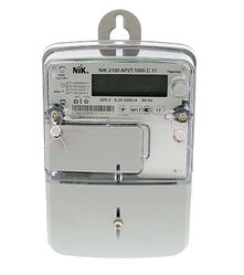 Счетчик однофазный NIK 2100 AP2.0000.0.11 электронный шунтовой