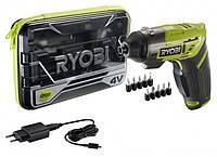 Отвёртка аккумуляторная Ryobi ERGO