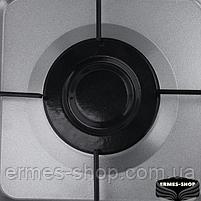 Настільна газова плита на 3 конфорки Lexical LGS-2813-8 | 4.7 KW, фото 5