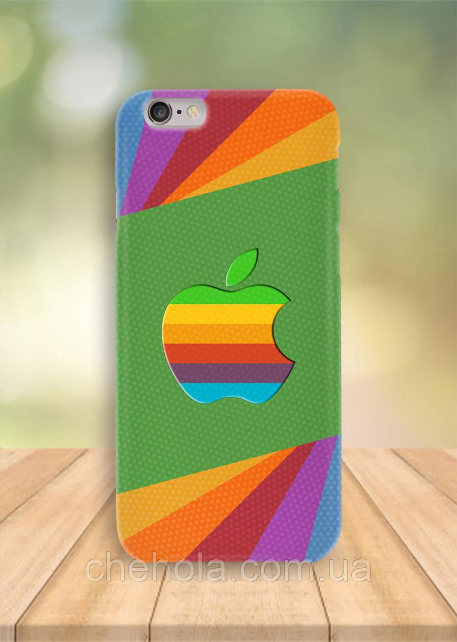 Чехол на iPhone 6S 6 PLUS 6 Apple Яркие полосы