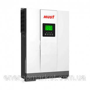 Гибридный инвертор Must PH18-3024 Plus MPK 3KVA/3000W 24V 80A без АКБ (МРРТ)