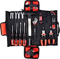 """Набір інструментів в сумці YATO 1/4"""" 44 предметів (YT-39280)"""