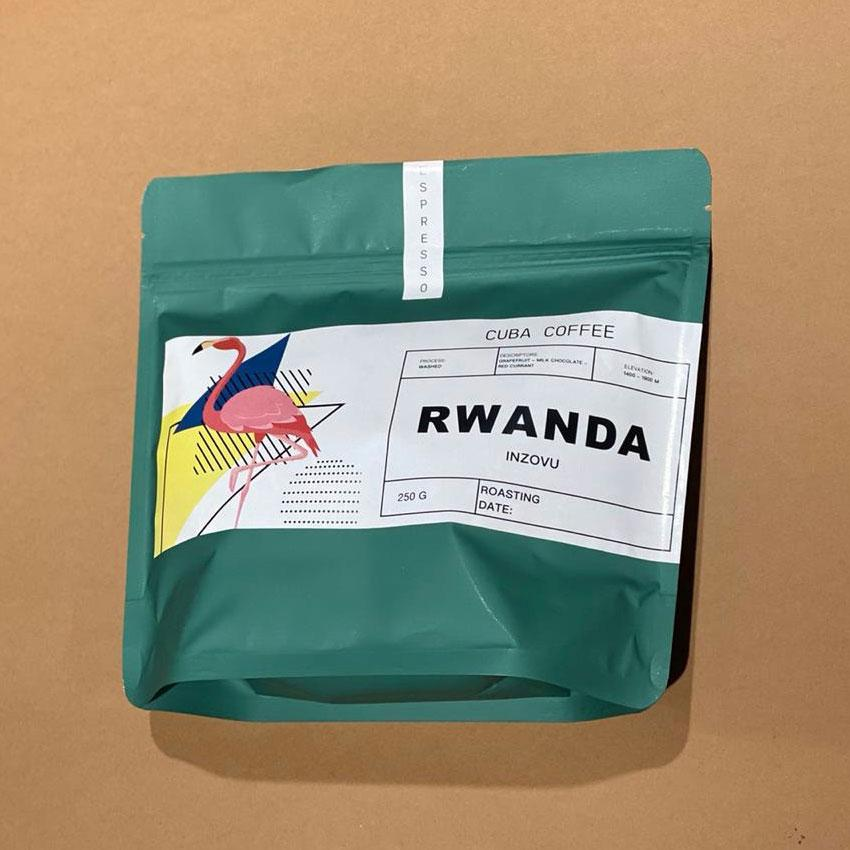 Кава в зернах Руанда 250г