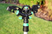 Дождеватель Presto-PS ороситель импульсный на 4 форсунки с резьбой 1 дюйм (6009), фото 2