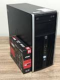 Комп'ютер HP 6300 MT Intel Core i5-3470 4ядра RAM 8GB HDD 500GB PCI RX550 2GB 128bit Win10, фото 2
