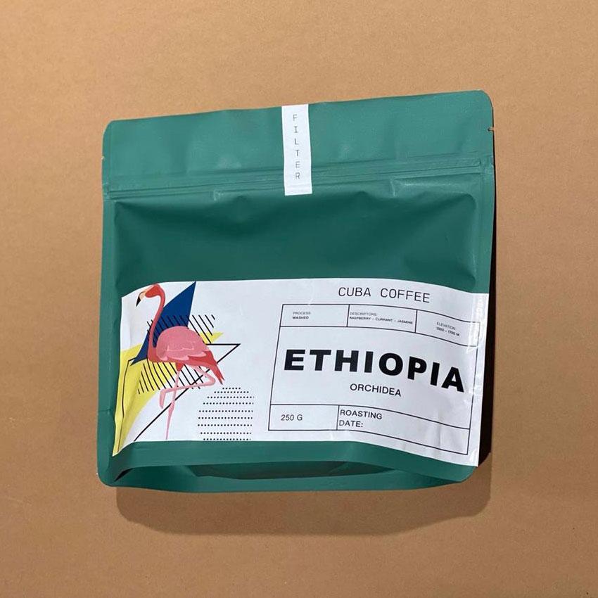 Кава в зернах Ефіопія Иргачев 250г