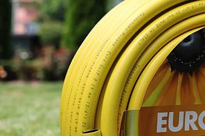 Шланг садовый Tecnotubi Euro Guip Yellow для полива диаметр 1/2 дюйма, длина 50 м (EGY 1/2 50), фото 2