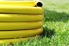 Шланг садовый Tecnotubi Euro Guip Yellow для полива диаметр 5/8 дюйма, длина 25 м (EGY 5/8 25), фото 3